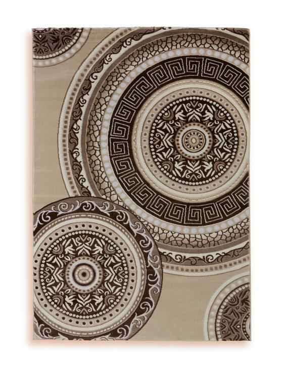 Webteppich Danilo 120x170 cm - Beige, Textil (120/170cm) - Ombra
