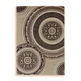 Webteppich Danilo 160x230 cm - Beige, Textil (160/230cm) - Ombra