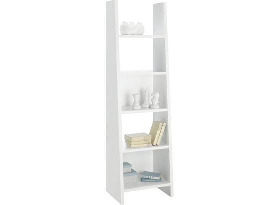 Regál Pisa Ii Biela - bílá, Moderní, kompozitní dřevo (53,6/186,5/38cm)