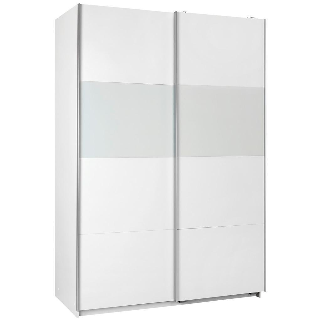 Bramfeld,š/v: 135/200cm Biela/ Sklo Biele