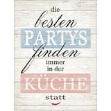 Dekopaneel Partys & Küche - Beige, Basics, Holzwerkstoff (29/39/1,2cm)