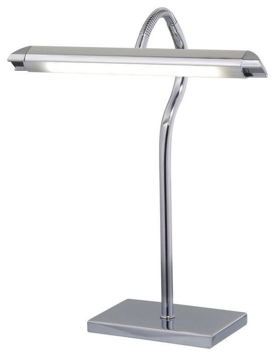 LED-Tischleuchte Helen - Silberfarben, MODERN, Kunststoff/Metall (10/15/34cm)