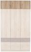 Nástavec Na Skříň Aalen-extra - šedá, Konvenční, kompozitní dřevo (136/39/54cm)