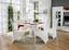 Židle Marilyn - bílá, Konvenční, dřevo (47/105/66cm)