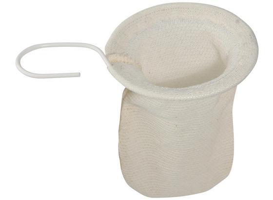 Teenetz Ø 9 cm - Weiß, KONVENTIONELL, Textil (11cm) - Fackelmann