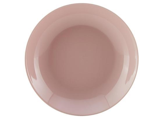 Talíř Na Polévku Sandy - růžová, Konvenční, keramika (20/3,5cm) - Mömax modern living