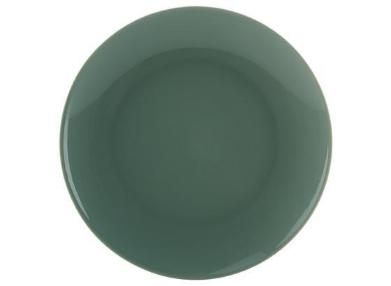 Dezertný Tanier Sandy - mätovozelená, Konvenčný, keramika (20,4/1,8cm) - Mömax modern living