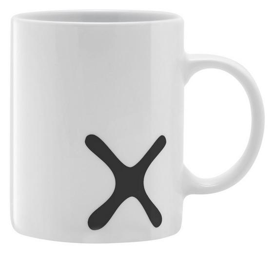 Hrnček Na Kávu Mömax 4 You -ext- - čierna/biela, keramika (8/9,5cm) - Mömax modern living