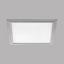 LED-Paneel Salobrena 2 - Alufarben/Weiß, MODERN, Kunststoff/Metall (30/30/1,1cm)