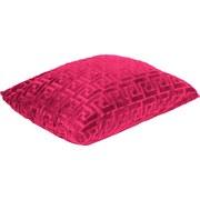 Zierkissen Mäander - Beere, KONVENTIONELL, Textil (48/48cm) - OMBRA