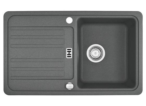 Spüle Euroform-efg614-78 - Grau, Stein (78/48cm)