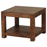 Couchtisch Mumbai L: ca. 60 cm - Sheeshamfarben, Design, Holz (60/60/40cm) - Carryhome