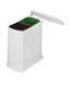 Triedič Odpadu 370920 - biela, umelá hmota/kov (38,9/41,2/20,3cm)