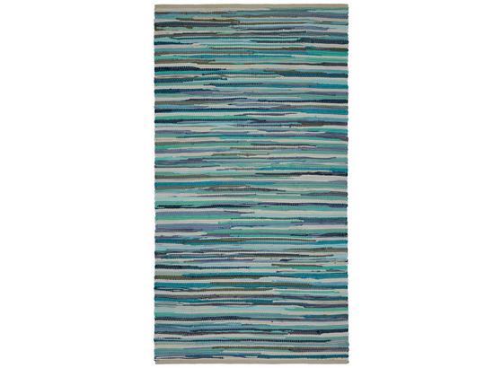 Ručně Tkaný Koberec Verona 2 - modrá, Basics, textil (80/150cm) - Modern Living