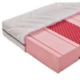 Komfortschaummatratze Comfort 140x200cm H2 - Weiß, MODERN, Textil (140/200cm) - Livetastic