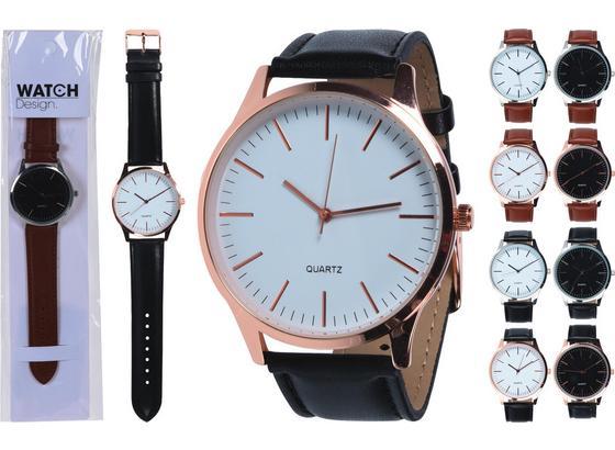 Armbanduhr Andrea - Silberfarben/Goldfarben, Design, Kunststoff (7/1/28,5cm)