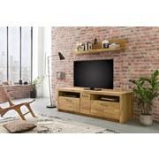 TV-Element Fenja B: 185 cm Eiche - Design, Holz/Holzwerkstoff (185/58/50cm) - MID.YOU