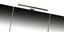 Skrinka So Zrkadlom Techno - biela, Moderný, kompozitné drevo (80/75/22cm)
