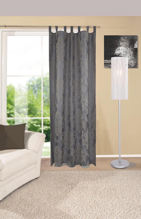Kombi Készfüggöny Mara - antracit, konvencionális, textil (140/255cm) - Ombra