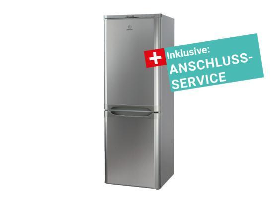 Kühlschrank Kombi : Indesit kühl gefrier kombi ncaa 55nx inkl. service online kaufen