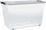 Box Benno I - Transparent/Anthrazit, KONVENTIONELL, Kunststoff (58/39/35cm) - Plast 1
