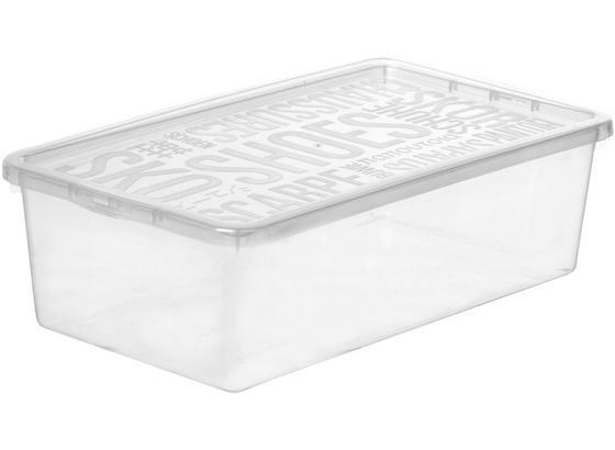 Box S Krytom Sandra - transparentné, plast (19/9,6/34,5cm) - Mömax modern living