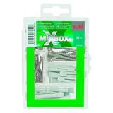 Schrauben-/dübelsortimentsbox Mixbox Md Haushalt - Silberfarben, Metall - SUKI
