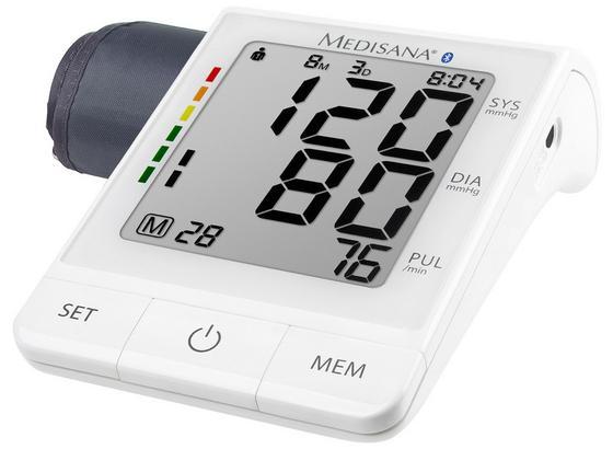 Blutdruckmessgerät Bu 530 Connect Oa - Weiß, MODERN, Kunststoff (15/10/6cm) - Medisana