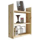 Wandregal Mona B: 60 cm Kieferfarben - Kieferfarben, Basics, Holz (60/74/20cm) - Livetastic