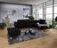 Wohnlandschaft in L-Form Savona 280x230 cm - Schwarz, MODERN, Textil (280/230cm) - Ombra