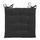 Sedací Vankúš Lola -based- -top- - čierna, textil (40/40/2cm) - Based