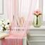 Provázková Záclona Victoria - růžová, textil (90/245cm) - Mömax modern living