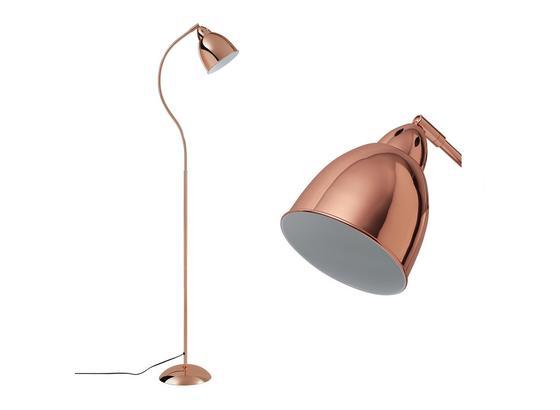 Stojacia Lampa Gisela - medená, Moderný, kov (145cm) - Mömax modern living
