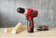 Akkuschrauber Akn 12 120310060 - Rot/Schwarz, KONVENTIONELL, Kunststoff (21/6/21cm) - Matrix