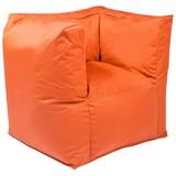 Outdoorsitzsack Valley B: 90 cm Orange - Orange, Basics, Kunststoff (90/65/60cm) - Ambia Garden