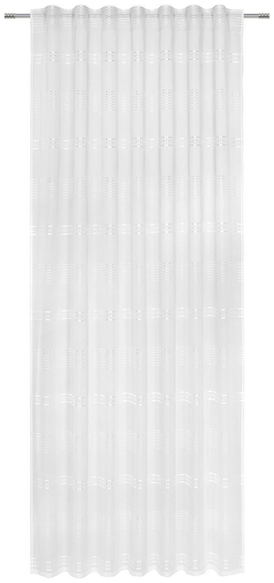 Záves Louis - biela, Konvenčný, textil (140/245cm) - MÖMAX modern living
