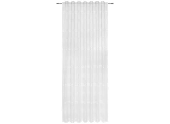 Závěs Louis - bílá, Konvenční, textil (140/245cm) - Modern Living