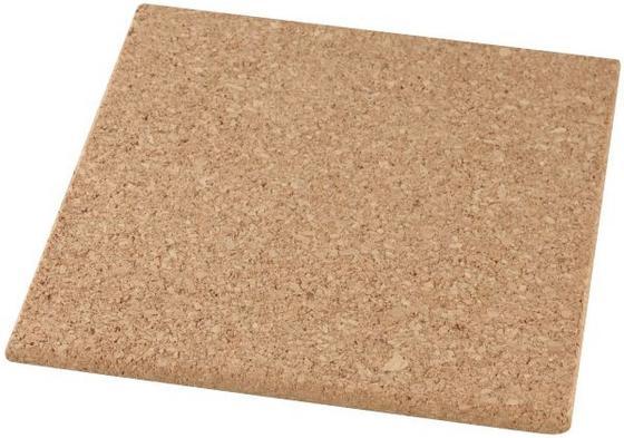 Edényalátét Parafa - barna, konvencionális, további természetes anyagok (19/19cm)