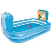 Spielpool mit Schusswände - Blau, Kunststoff (237/152/94cm)