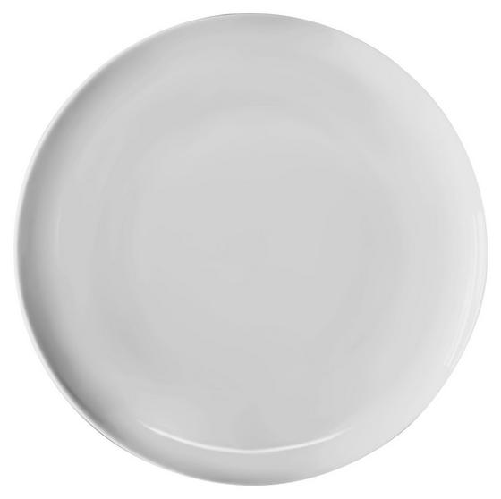 Lapostányér Felicia - fehér, konvencionális, kerámia (26cm) - OMBRA