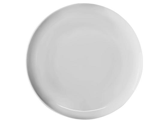 Speiseteller Felicia DM: 26 cm - Weiß, KONVENTIONELL, Keramik (26cm) - Ombra