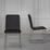 Židle Vinzenz - černá/barvy chromu, Moderní, kov/textil (46/89/53cm) - Mömax modern living