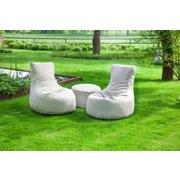Outdoorsitzsack Slope B: 85 cm Beige - Beige, Basics, Textil (85/90/85cm) - Ambia Garden