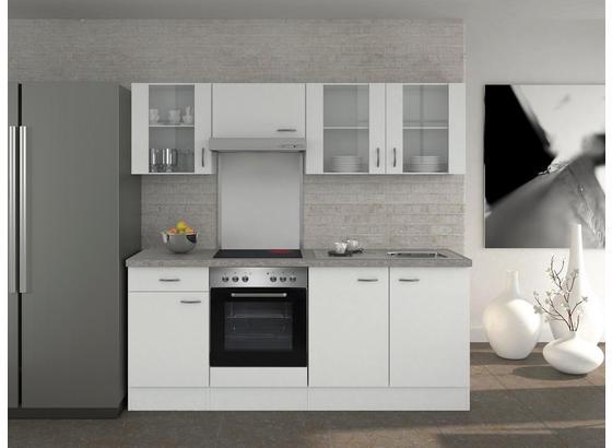 k chenblock wito 210cm wei online kaufen m belix. Black Bedroom Furniture Sets. Home Design Ideas