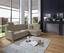 Wohnlandschaft in L-Form Sonoma 246x176 cm - Chromfarben/Beige, MODERN, Textil (246/176cm) - Ombra