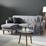 Sedací Souprava Tamara - světle šedá, Moderní, dřevo/textil (197/136cm) - Modern Living
