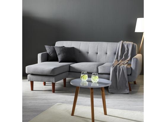 Sedacia Súprava Tamara - svetlosivá, Moderný, drevo/textil (197/136cm) - Modern Living
