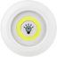 LED-Dekoleuchte Levin - Gelb/Weiß, KONVENTIONELL, Kunststoff (9/9/2,3cm) - Homezone