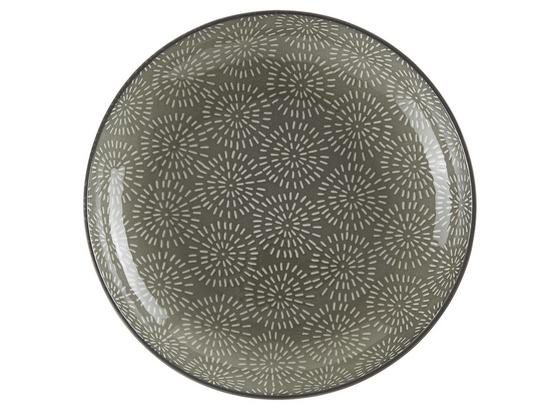 Talíř Na Polévku Nina - šedá, keramika (21cm) - Mömax modern living