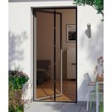 Insektenschutz-Türvorhang mit Magnetsystem - Schwarz, KONVENTIONELL, Kunststoff (95/215cm)